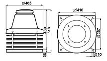 Каминный вентилятор Vortice Tiracamino, фото 3