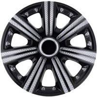R15 Колпаки на колеса диски для дисков R15 серо / черные Супер Блэк колпак K0191