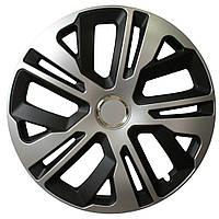 R15 Колпаки на колеса диски для дисков R15 серо / черные МИКС колпак K0199