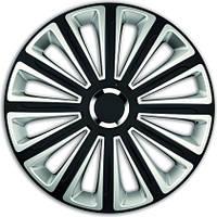 R15 Колпаки на колеса диски для дисков R15 серо / черные Супер Блэк колпак K0205