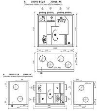 Komfovent модель H-HE+пульт С5.1, фото 3