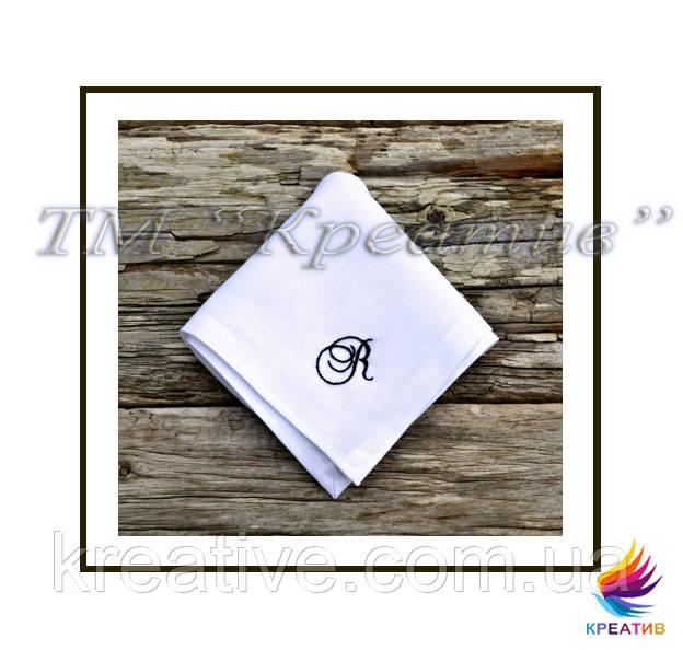 Хб салфетки с вышивкой (с вашем логотипом) (под заказ от 50 шт)
