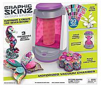 Набор для дизайна и украшения шкатулки, статуэтки, сувенира бабочки, Graphic Skinz Design Studio из США