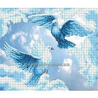 Схема для вышивания бисером Голуби БИС3-48 (А3)