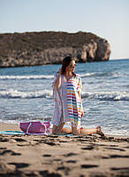 Пляжная туника Ibiza радуга Barine