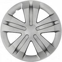 R15 Колпаки на колеса диски для дисков R15 серые Silver колпак K0213