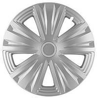 R15 Колпаки на колеса диски для дисков R15 серые Silver колпак K0215