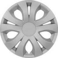 R15 Колпаки на колеса диски для дисков R15 серые Silver колпак K0225
