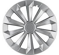 R15 Колпаки на колеса диски для дисков R15 серые Silver колпак K0227