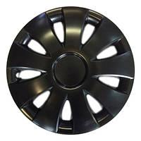 R15 Колпаки на колеса диски для дисков R15 черные Блэк колпак K0232