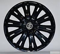 R15 Колпаки на колеса диски для дисков R15 черные блэк колпак K0233