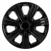 R15 Колпаки на колеса диски для дисков R15 черные блэк колпак K0235