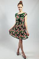 Платье  летнее с цветочным принтом Mela Loves London