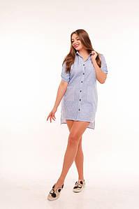 Рубашка женская 48+  арт 53391-114
