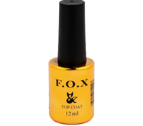 Топ для гель лака FOX Top Coat 12 мл