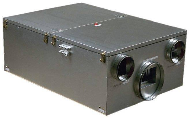 Приточно-вытяжная установка Systemair Maxi 1100 HW, фото 2