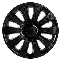 R15 Колпаки на колеса диски для дисков R15 черные блэк колпак K0236