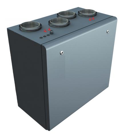 Приточно-вытяжная установка Lessar LV-PACU 260 VW (L/R)