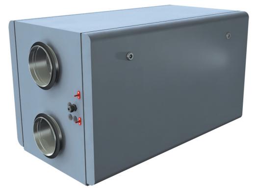 Приточно-вытяжная установка Lessar LV-RACU 700 HW
