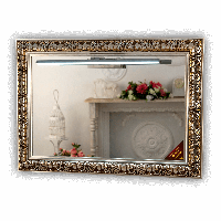 Зеркало Baroque 800 х 1600 мм