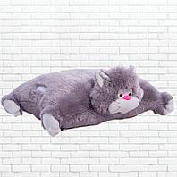 Детская подушка-складушка, котик,Мурчик