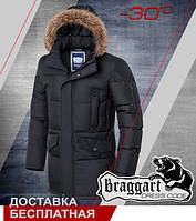 Отличная мужская зимняя куртка Braggart