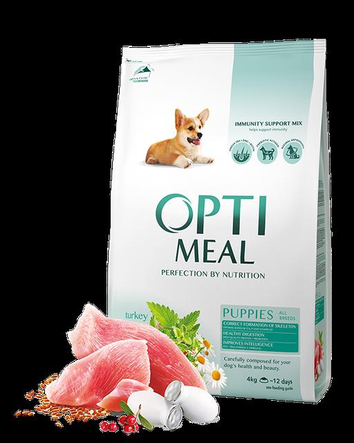 Optimeal Puppy All Breed 4кг - корм для цуценят з індичкою