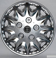 Колпаки на колеса диски для дисков R16 серые Нива под колесные болты Принц колпак K0317