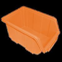 Контейнер облегченный малый 170х110х75 мм Оранжевый