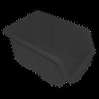 Контейнер облегченный средний 245х160х125 мм Черный