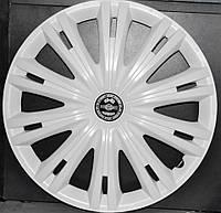 Колпаки на колеса диски для дисков R16 белые выпуклые Газель колпак K0301
