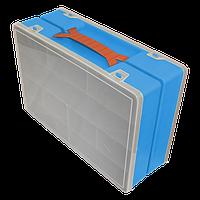 Органайзер двойной 355х250х110 мм Синий