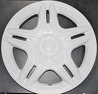 Колпаки на Газель колеса R16 белые 2 выпуклых 2 обычных K0302