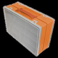 Органайзер двойной 355х250х110 мм Оранжевый
