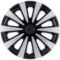 Колпаки на колеса диски для дисков R16 черные выпуклые Газель супер черные колпак K0307