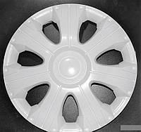 Колпаки на колеса диски для дисков R16 белые выпуклые Газель белые колпак K0310