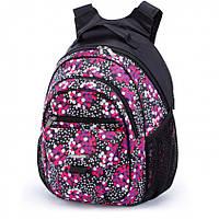 Школьный рюкзак для девочки 509 с ортопедической спинкой ТМ Dolly (Долли), для 1-4 класса.