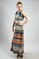 Платье летнее в пол цветное Markshara