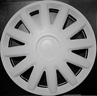 Колпаки на Газель колеса R16 белые 2 выпуклых 2 обычных колпак K0312