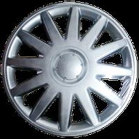 Колпаки на Газель колеса R16 серые 2 выпуклых 2 обычных K0313