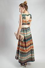 Женское платье  летнее в пол цветное Markshara, фото 2