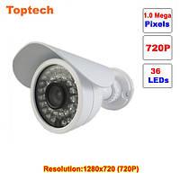 Камера видеонаблюдения (HD 720/IP) 1.0 МП 36 ик-светодиодов, влагозащищенная P2P ONVIF 2.0