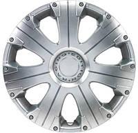 Колпаки на Газель колеса R16 серые 2 выпуклых 2 обычных колпак K0311
