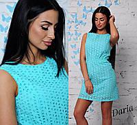 Элегантное летнее короткое платье