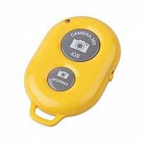 Bluetooth пульт ДУ для смартфона желтый