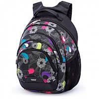 Школьный рюкзак для девочки 512 с ортопедической спинкой ТМ Dolly (Долли), для 1-4 класса.