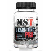 Купить л-карнитин MST Sport Nutrition L-Carnitine PRO with Yohimbine, 100 caps