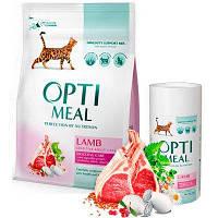 Optimeal Lamb 4кг- корм для кошек с ягненком