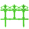 "Забор декоративный ""Ажур"" набор 4 шт. (1,5 м) темно-зеленая"