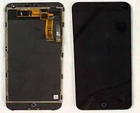 Дисплейный модуль сенсор с рамкой для Meizu M1 Note